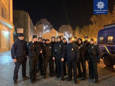 В новогоднюю ночь полиция зафиксировала в Одессе 77 ДТП
