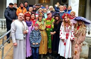Одесские волонтёры поздравили с Рождеством пациентов военного госпиталя