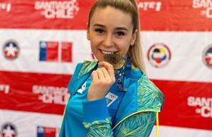 Одесская каратистка завоевала первую золотую медаль в новом году