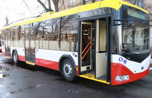 С четверга в Одессе меняется троллейбусный маршрут №14