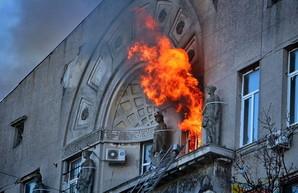 Ещё одному сотруднику сгоревшего одесского колледжа предъявлено обвинение
