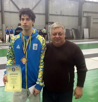 Одессит стал бронзовым призёром чемпионата Украины по фехтованию