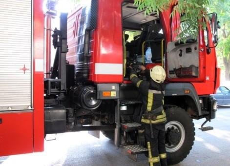 Ночью в Одессе произошёл пожар в парке Горького