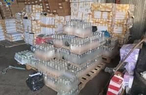 В Одессе СБУ выявила более семи тысяч литров палёного алкоголя