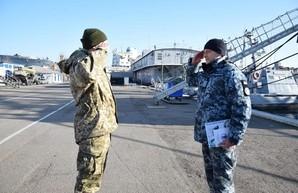 В Одесской водолазной школе состоялся выпуск курсантов