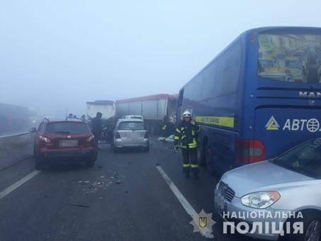 В Одесской области произошла крупная автокатастрофа со смертельным исходом