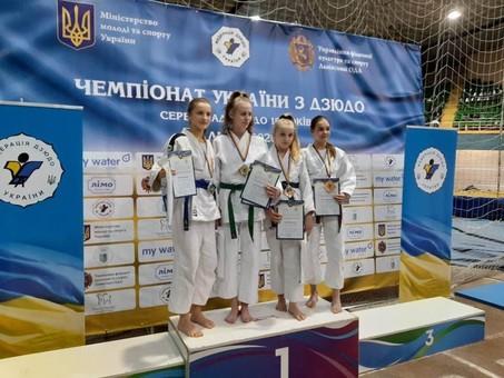 Дзюдоисты Одесской области стали чемпионами Украины