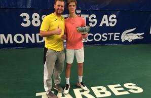 Теннисист из Черноморска стал победителем престижного международного турнира