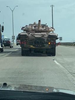 Танки Т-90 уже и на дорогах США (фото)