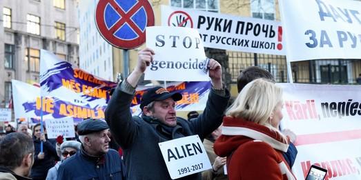 """Проект Кремля """"защита русскоязычных"""" стартовал с Латвии"""