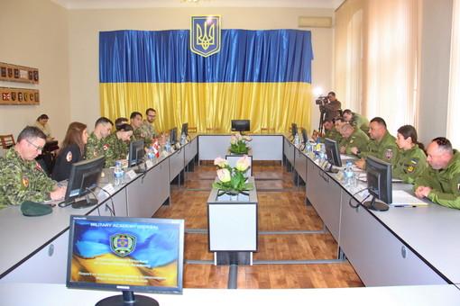 Армия Канады поможет Одесской военной академии развивать новые направления подготовки военнослужащих