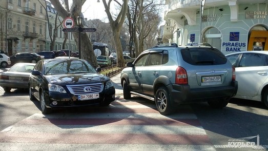 Число инспекторов по парковке в Одессе увеличится