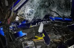 Из-за уснувшего водителя на Киевской трассе произошло ДТП с рейсовым автобусом