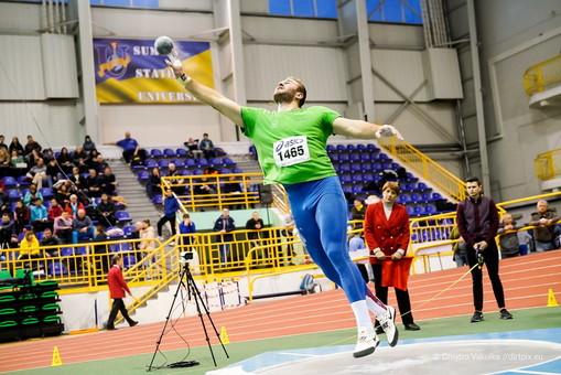 Одессит стал бронзовым призёром чемпионата Украины по лёгкой атлетике