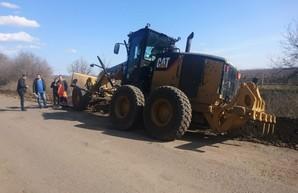 В пяти районах Одесской области начали ремонтировать дороги