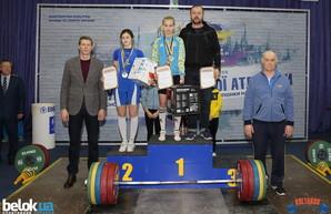 Школьница из Одесской области завоевала Кубок Украины по тяжёлой атлетике