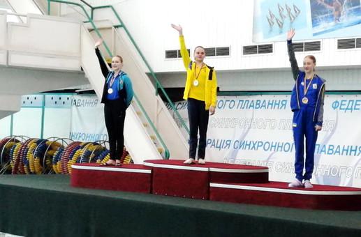 Одесситка завоевала бронзу на чемпионате Украины по артистичному плаванию