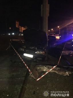 Смертельное ДТП произошло ночью в Одесской области