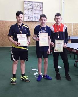 Одессит занял второе место на чемпионате Украины по настольному теннису