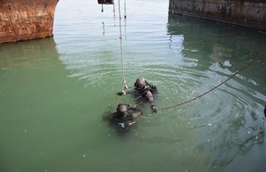 В Одессе проходит подготовка подводного противодиверсионного подразделения ВМСУ
