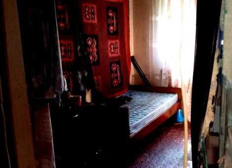 В Одессе на Люстдорфской дороге произошёл пожар в жилом доме