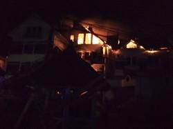 В Одесской области горел частный жилой дом