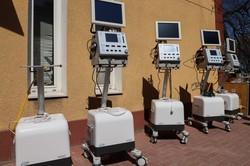 Одесская инфекционная больница получила современные аппараты ИВЛ эксперт-класса