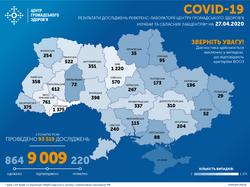 В Одесской области количество заболевших COVID-19 превысило 200 человек