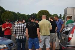 Одесские таксисты вышли на акцию протеста (ВИДЕО)