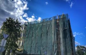В Одессе ремонтируют дом Либмана: надо укреплять фундамент