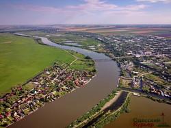 Наводнение на Днестре начинает заливать трассу Одесса - Рени (ВИДЕО)