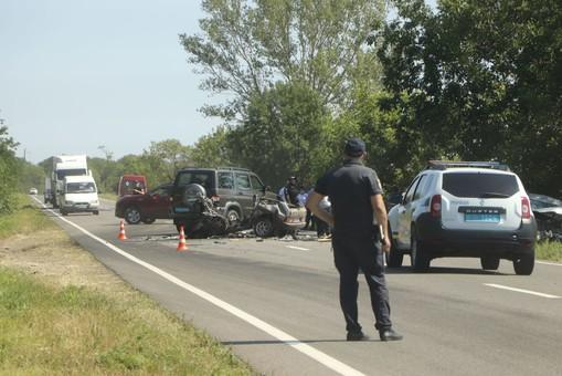 Аварии на трассе Одесса - Рени унесли жизни восьми человек