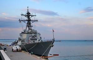 """Начались учения """"Си-Бриз"""": на них пришел американский ракетный эсминец"""