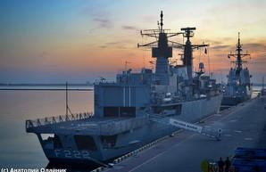 В Одессу заходил флот НАТО (ФОТОРЕПОРТАЖ)