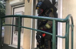 В Одессе был пожар в отделении банка