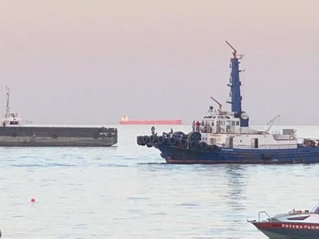 Страсти по Delfi: мэр Одессы пытается «примазаться» к подъему заржавевшей железяки