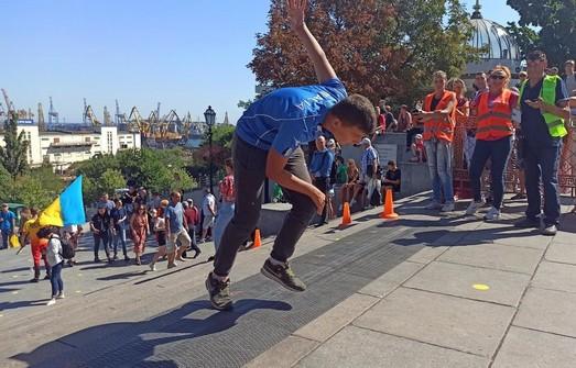 В Одессе прошел День физкультуры и спорта
