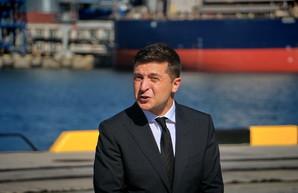 Что делал в Одессе Зеленский (ФОТО, ВИДЕО)