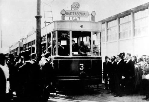 В Одессе 110 лет назад запустили трамвай (ВИДЕО)
