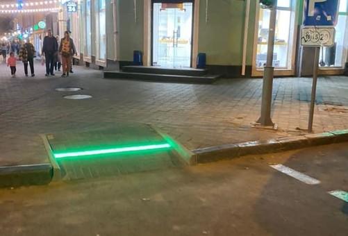 В Одессе появился «подножный» светофор