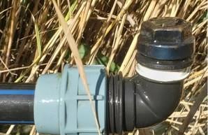 Одесские пограничники обнаружили подводный спиртопровод (ВИДЕО)