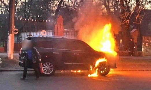 Спасатель из Днепропетровщины поджигал машины в Одессе на заказ