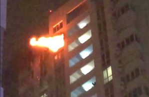 В Одессе произошел пожар в элитном доме на Таирово (ВИДЕО)