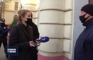 Выборы ректора Одесского медина не прошли без скандала (ВИДЕО)