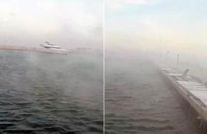 В Одессе «вскипело» море (ВИДЕО)