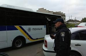 В Киевском райотделе полиции Одессы управление внутренней безопасности провело обыски