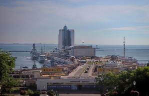 В Одессе отметили день ВМС в присутствии президента